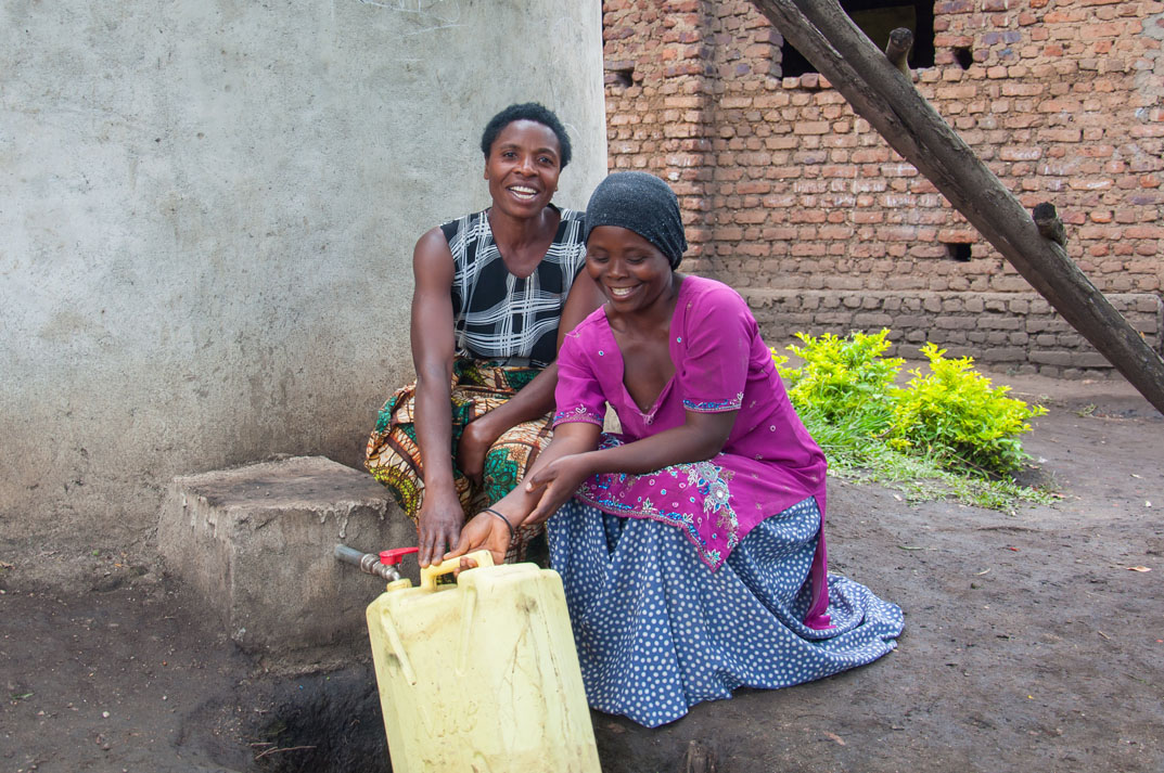 Villages in the Rwenzori Mountains have access to clean running water thanks to UK Christians