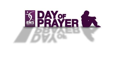 The BMS Day of Prayer logo