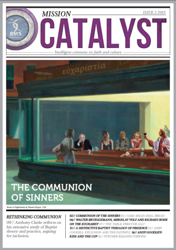 Mission Catalyst Communion issue cover