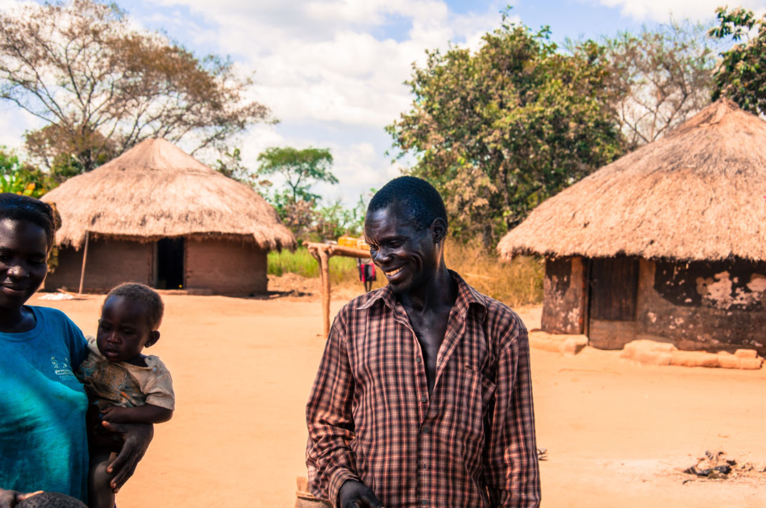 Onen Charles is a farmer in northern Uganda