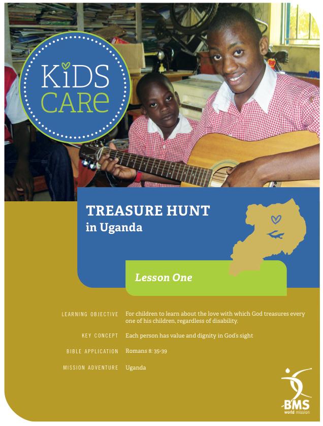 KIDS CARE Uganda treasure hunt