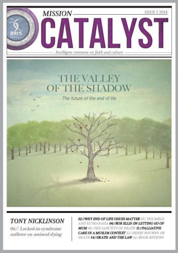 The valley of the shadow cover Mission Catalyst Issue 1 2014