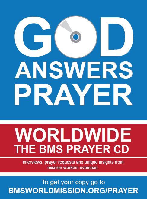 Worldwide prayer CD