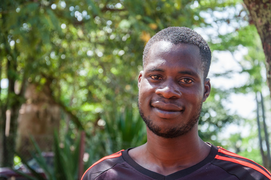 """I'm now raising some funds that can make my family also to be fed well,"" says Omgom Robin, one of the new businessmen"