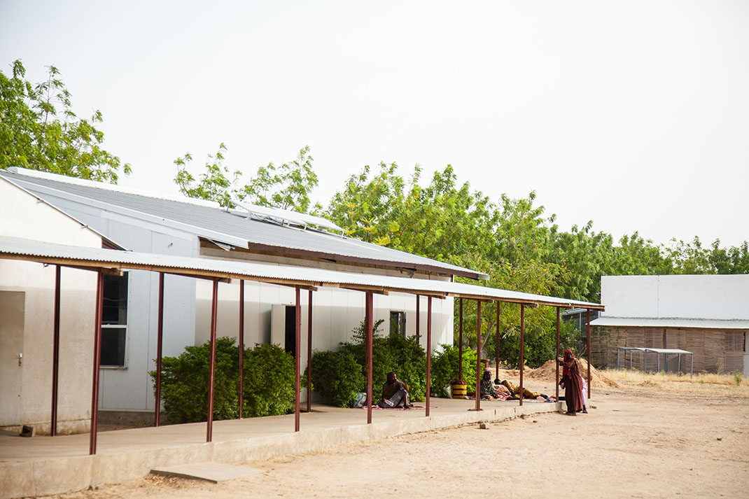 Guinebor II hospital in Chad