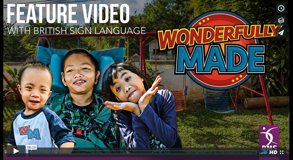 Feature video with BSL - Wonderfully Made