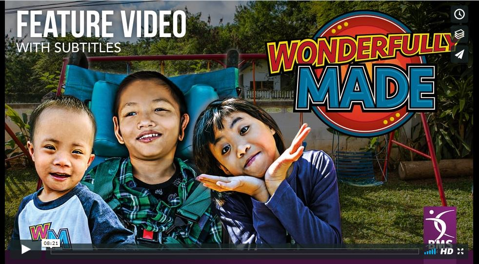 Subtitled feature video - Wonderfully Made