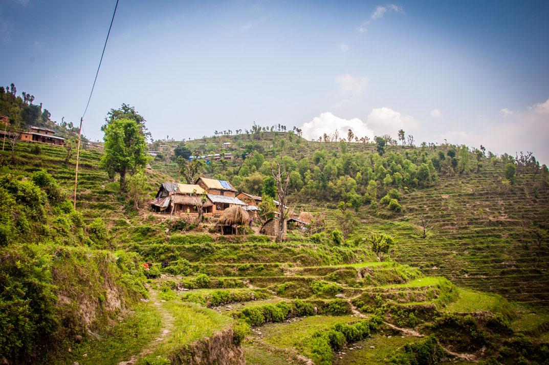 Gorkha District in Nepal.