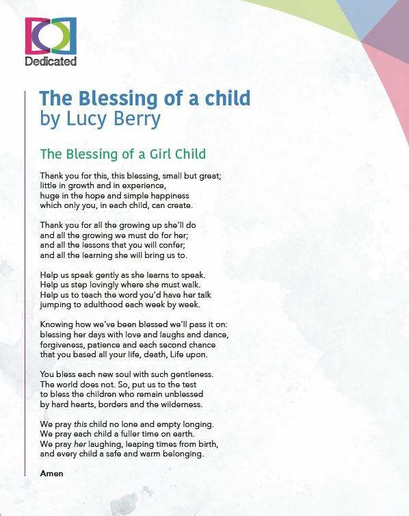 The Blessing of a Child poem