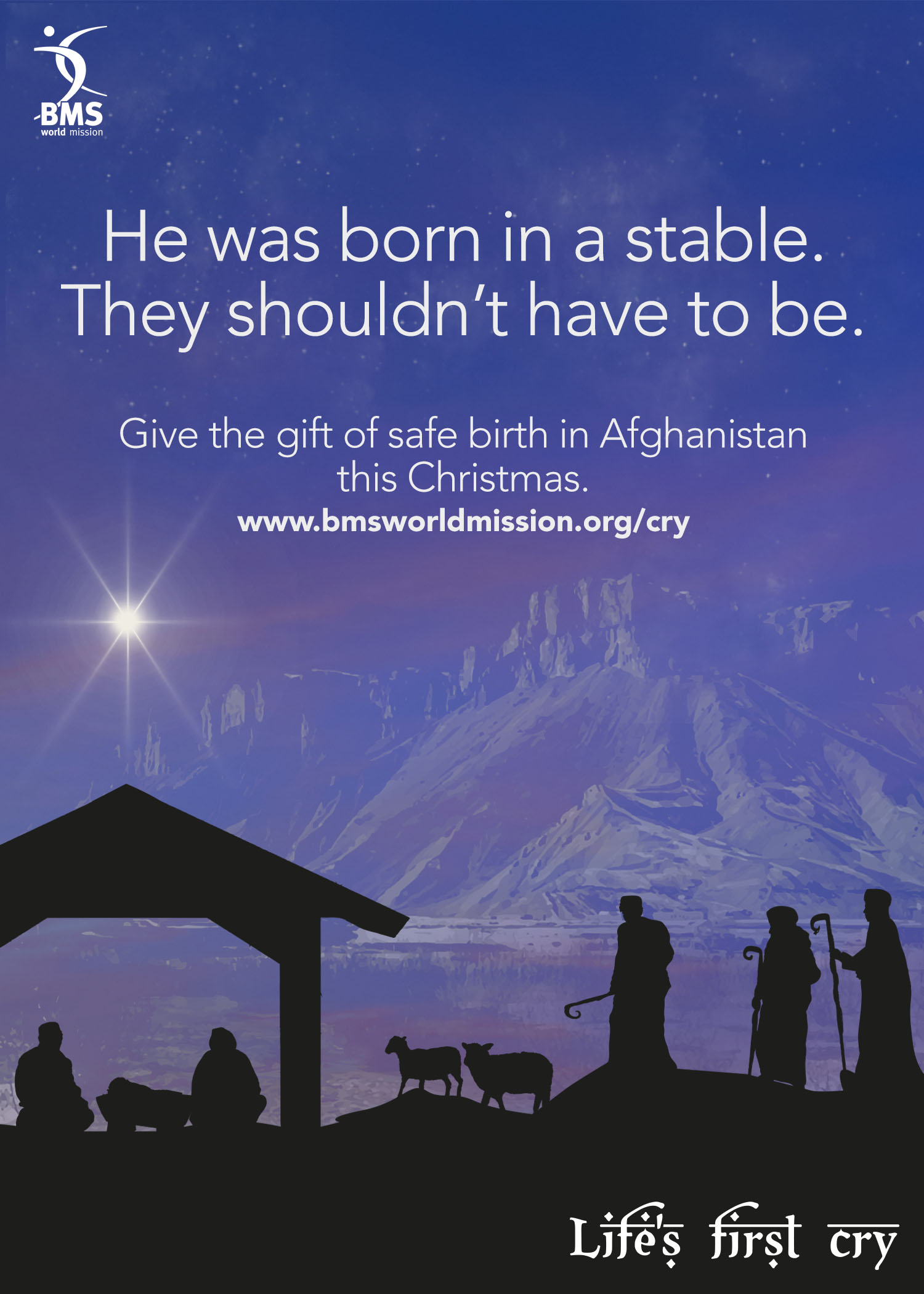 He was born in a stable. They shouldn't have to be.