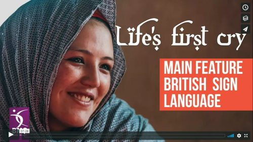 Life's First Cry Feature video with BSL cover image