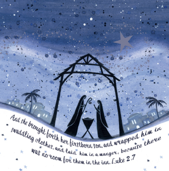 Starlit Nativity