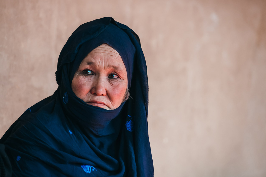 Negar, a mother from Afghanistan