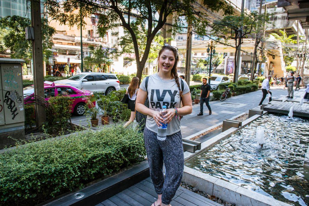 Ashleigh Gibb in Bangkok