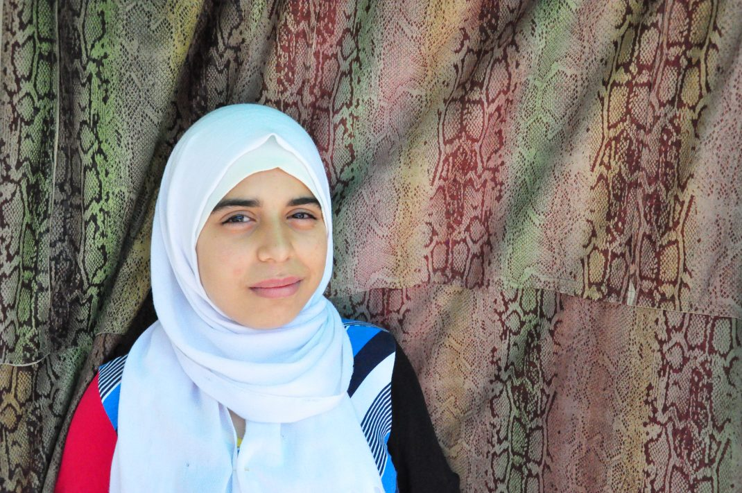 Shakala, a Syrian refugee
