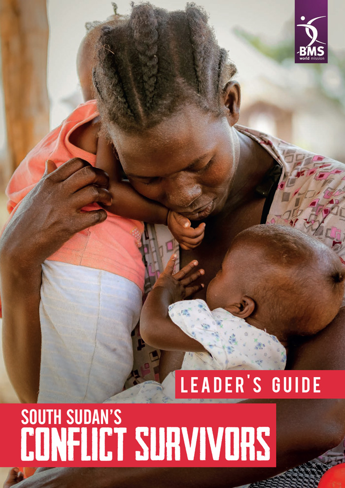 Cover of the SSCS Leader's Guide featuring a mother holding two babies