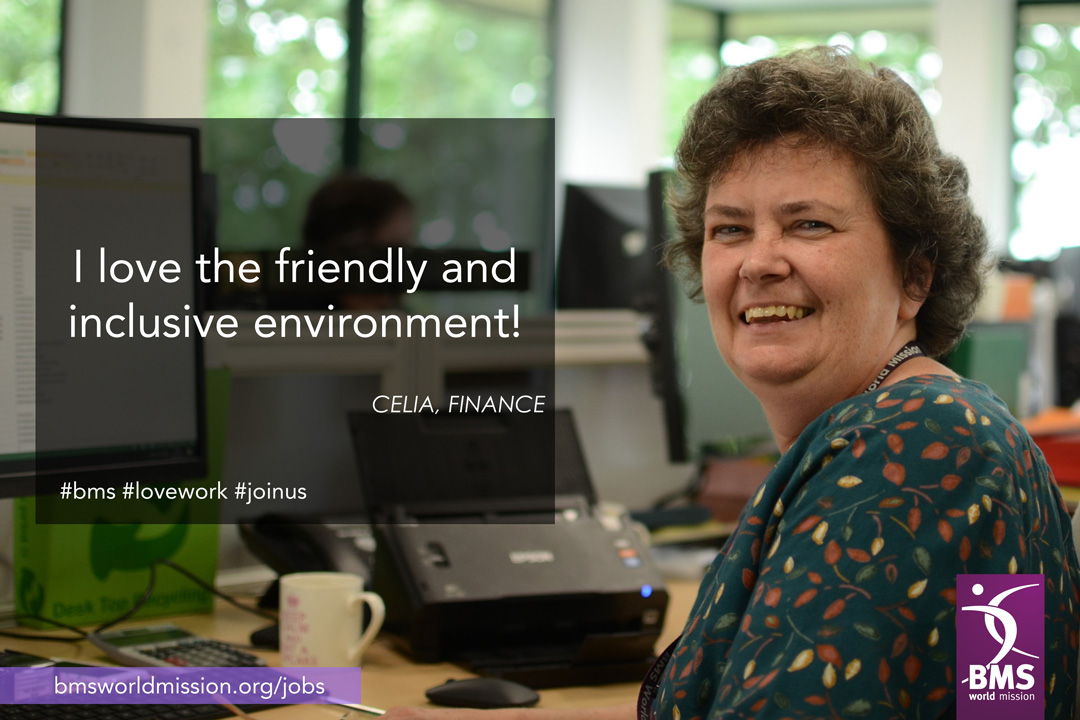 Photo of Celia, who says 'I love the friendly and inclusive environment'