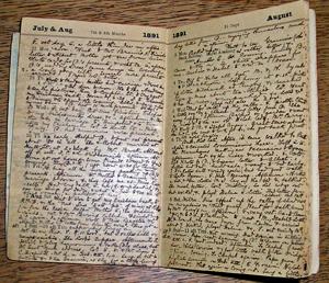 Ellen Farrer's diary