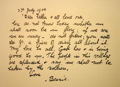Bessie Renaut letter 03 11 1900