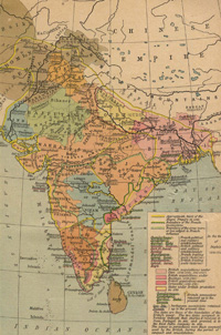 India map 1700-1792b