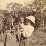 Mrs Lorrain and orphan boy - Mizoram