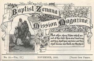 Zenana mag cover, 1905